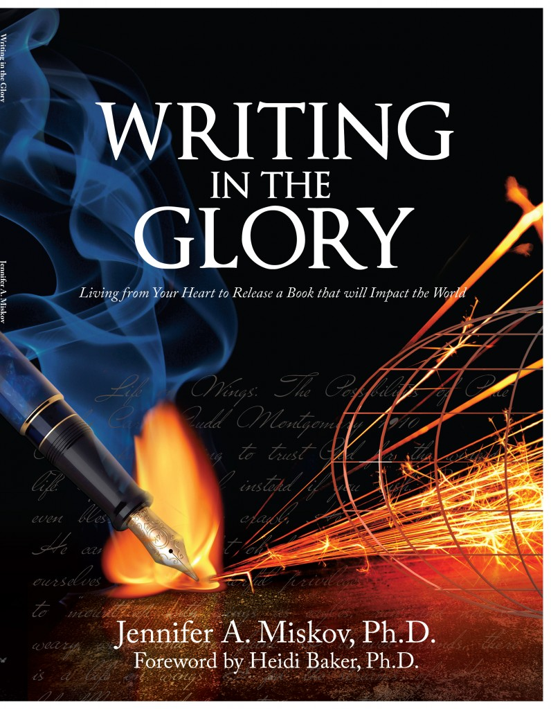 Writing in the Glory - Jennifer A. Miskov - Cover