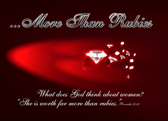 More Than Rubies – Stage play
