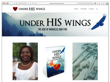 Under His Wings – Website Book Promotion
