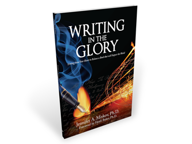 Writing in the Glory – Book Cover Design